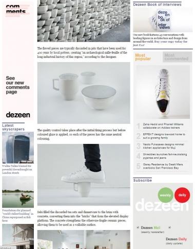dezeen magazine - 2